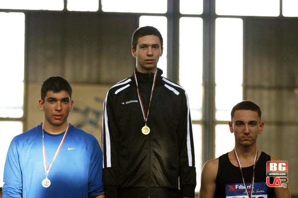 Християн Вълев от ЛАСК Локомотив (Русе) стана държавен първенец в седмобоя при юношите младша възраст