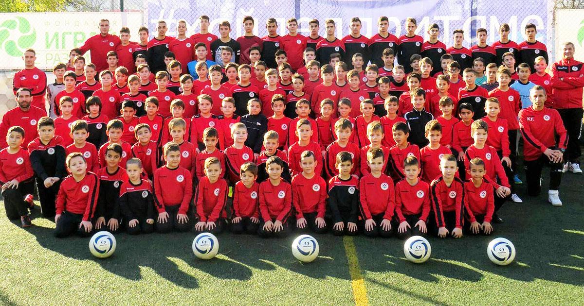 Локо (Русе) със 7 отбора при подрастващите през новия сезон