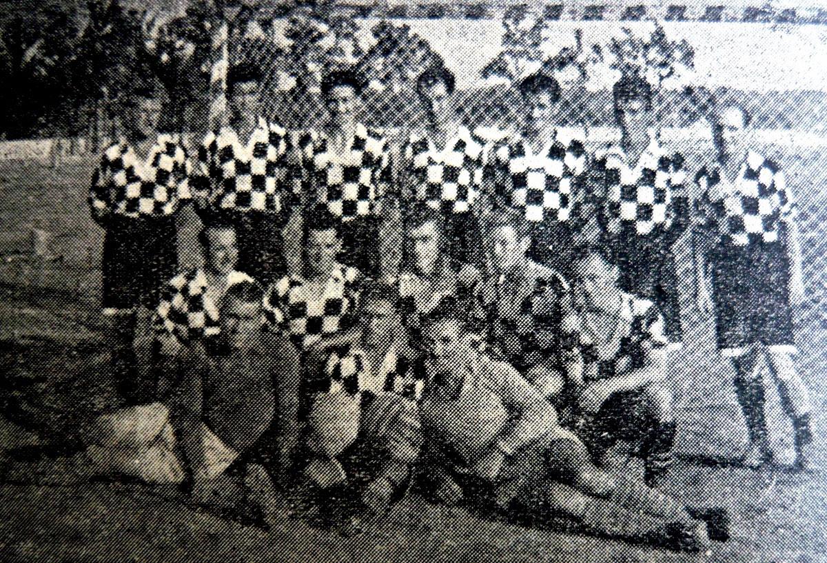 ДСО Локомотив (Русе), 1954 г.