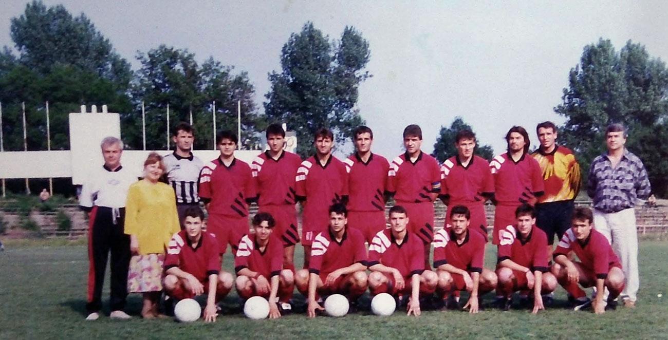 Локомотив (Русе) през 1996 г.