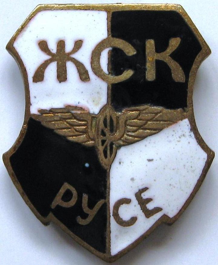 Емблемата на ЖСК (Русе)