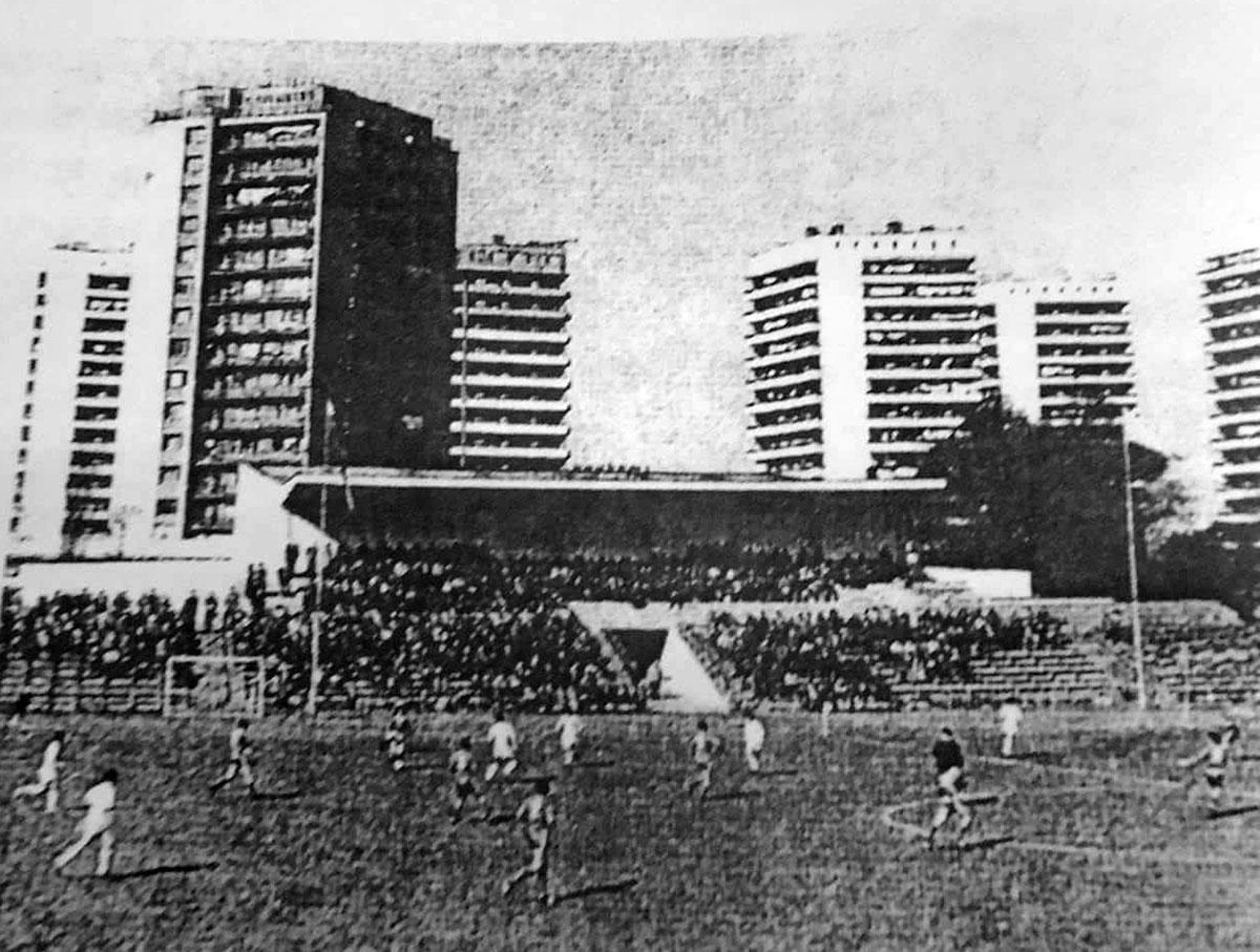 "Мач на стадион ""Локомотив"""