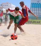 Живко Парашкевов в националния отбор по плажен футбол